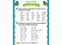 Picture of Check Your Spelling Learning Chart