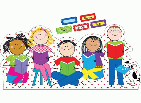 Reading Kids Large Banner Set