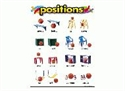 Picture of Positions Learning Chart