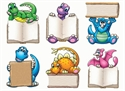 Picture of Dino-Mite Readers Mini Cut-outs
