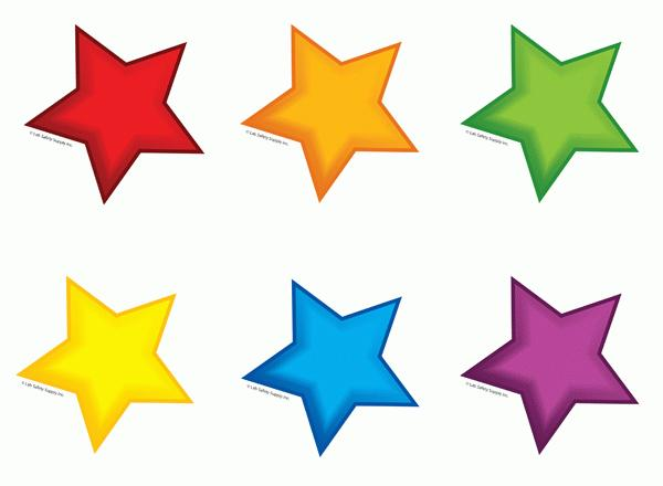 colourful stars cut outs music clipart borders free musical clipart borders