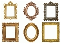 Picture of Fancy Frames Cut-outs
