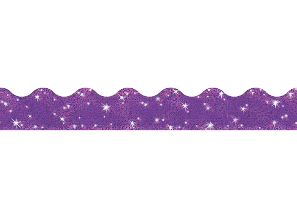 Purple Sparkle Border