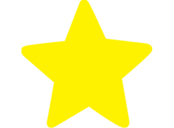 Perfect star two colour cut outs for How to cut a perfect star
