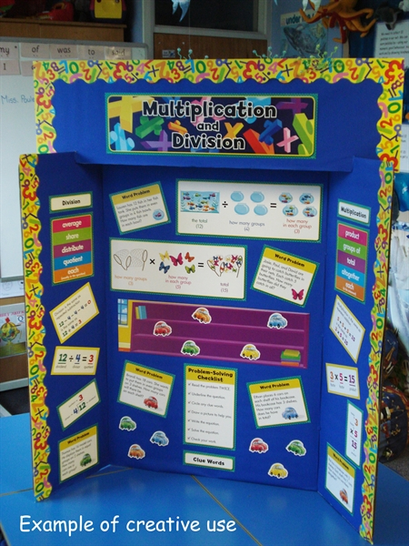 Multiplication And Division Display Set