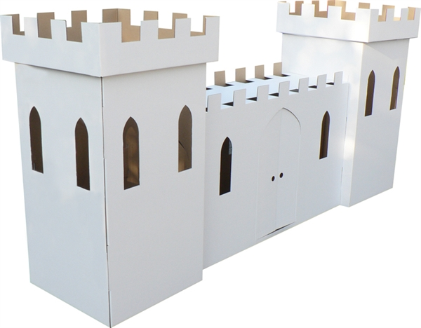 Cardboard Large Castle