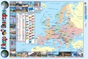 Picture of Map of Europe Learning Chart