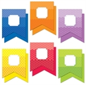 Picture of Painted Palette Pennants Jumbo Designer Cut-Outs